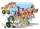 Carrellini per cani disabili