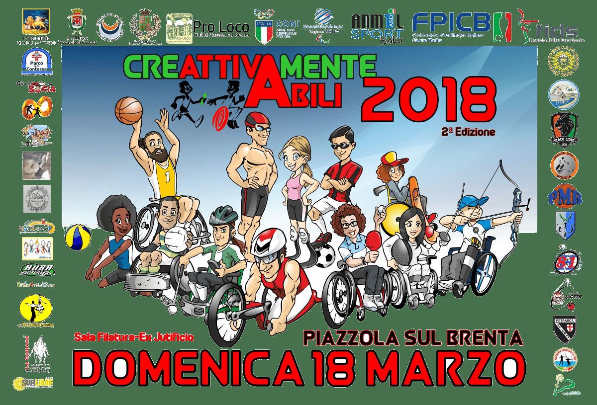 Immagine: Creattivamente Abili 2018 - 2ª edizione - domenica 18 marzo - Piazzola sul Brenta