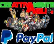 Dona con PayPal o altre carte di credito