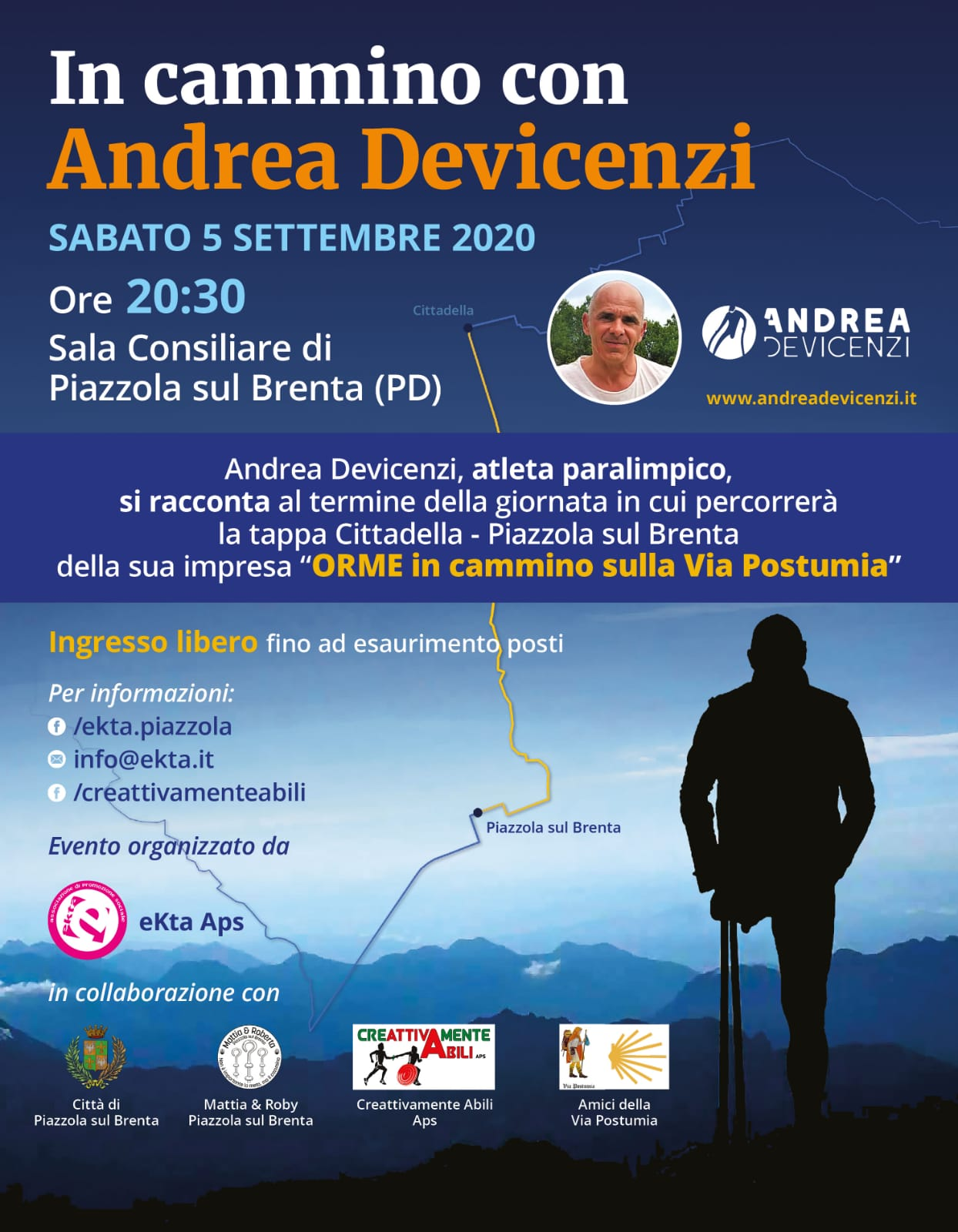 In Cammino con Andrea Devicenzi